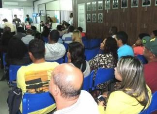 ice-presidente do Corecon-ES, Eduardo Araujo, foi um dos palestrantes do Encontro Estadual dos Procons