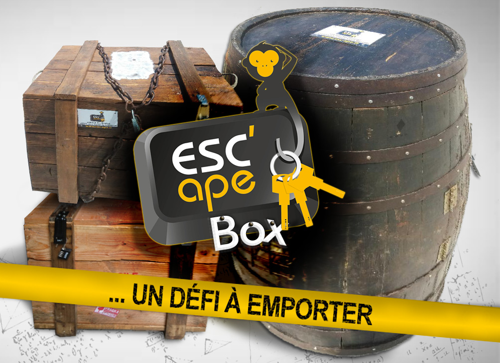 Escape box, un défi à emporter