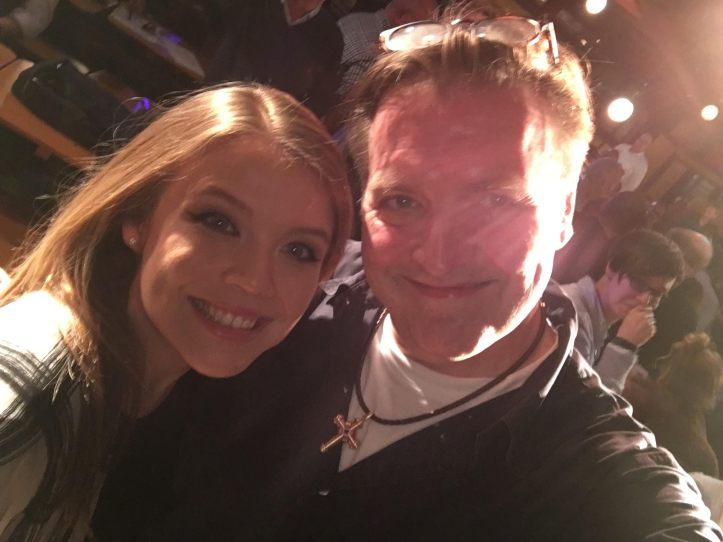 Ein Selfie mit Ailbhe
