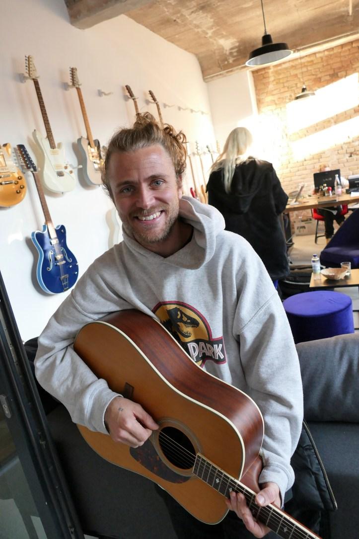 Tim Schou Unser Lied für Israel Deutsche Vorentscheidung 2019 Song Writing Camp
