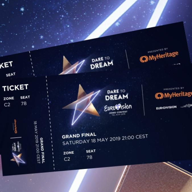 Eurovision Song Contest 2019 ESC Tel Aviv Israel Tickets