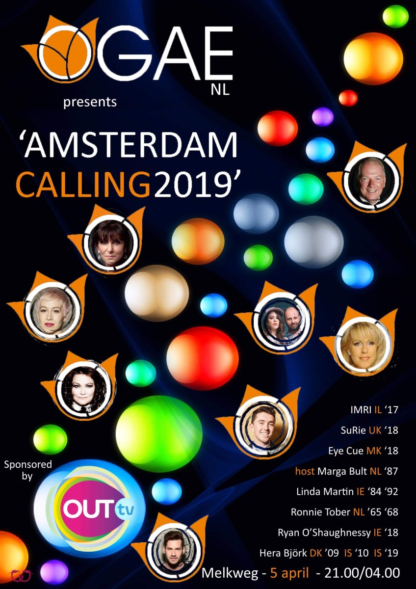 Amsterdam Calling 2019: Die Pre-Pre-Party vor Eurovision in Concert