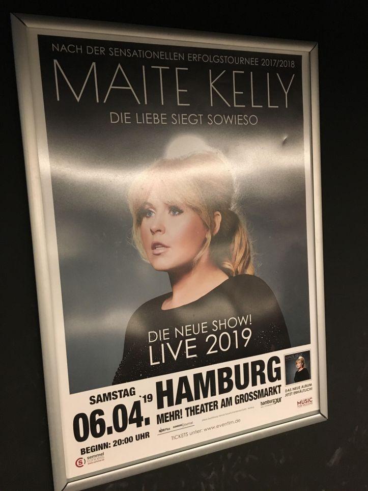 Barbara Schoeneberger in Hamburg Tourauftakt 2019 Maite ist auch demnächst im Mehr Theater