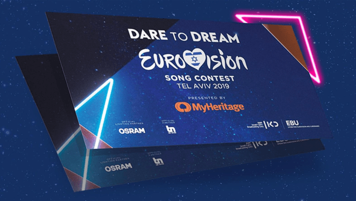 Eurovision Song Contest Ticket 2019 Israel Tel Aviv
