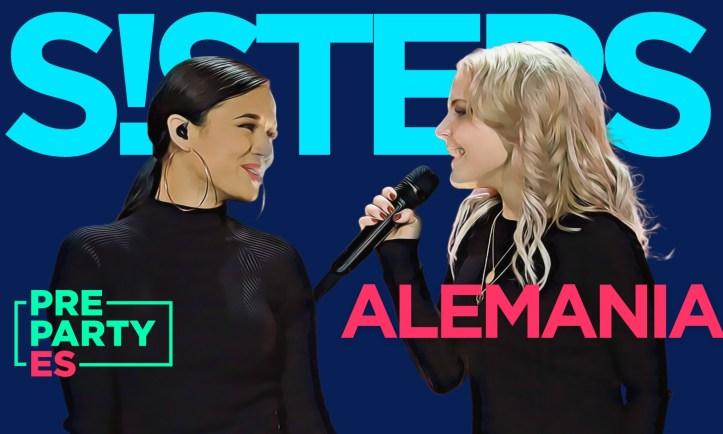 S!sters Pre-Party Spanien Madrid ESC Eurovision Deutschland Quadrat