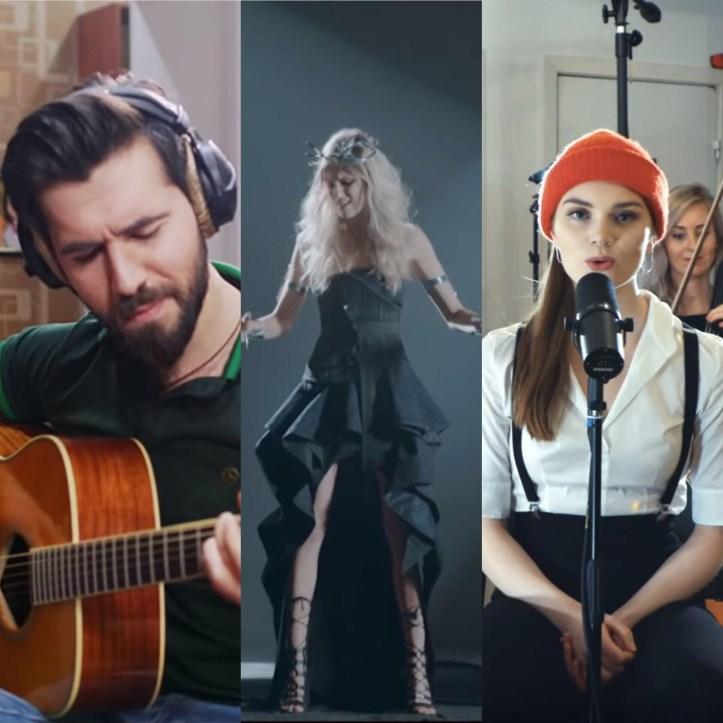 ESC 2019 Eurovision Chingiz Truth Akustik Version Nevena Bozovic Kruna Leonora Love Is Forever Streicher Version Video Serbien Dänemark Aserbaidschan