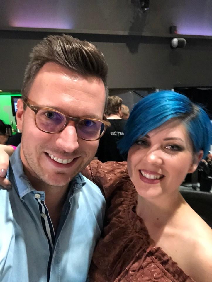 Paenda Österreich ESC 2019 Eurovision Benny Eic Eurovision in Concert Interview Selfie