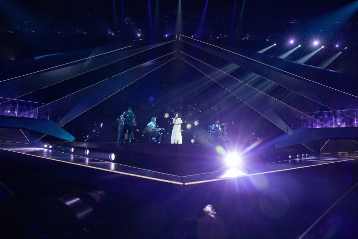 Erste Probe Lettland Carousel That Night ESC 2019 3