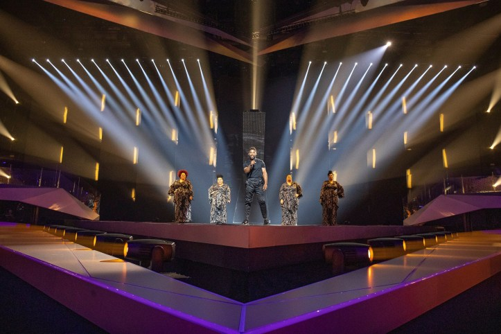 Erste Probe Schweden John Lundvik Too Late For Love ESC 2019 2