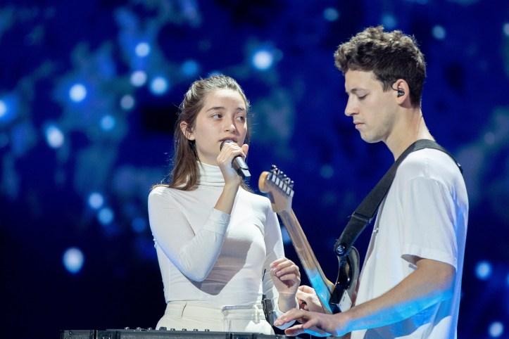 Erste Probe Slowenien Zala Gasper Sebi 2019