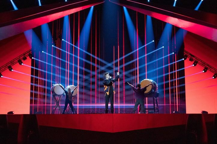 Zweite Probe Belgien Eliot Wake Up ESC 2019 3