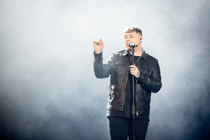 Zweite Probe Großbritannien Michael Rice Bigger than Us ESC 2019 2