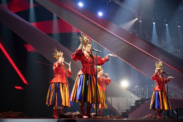 Zweite Probe Polen Tulia fire of Love Pali Sie ESC 2019