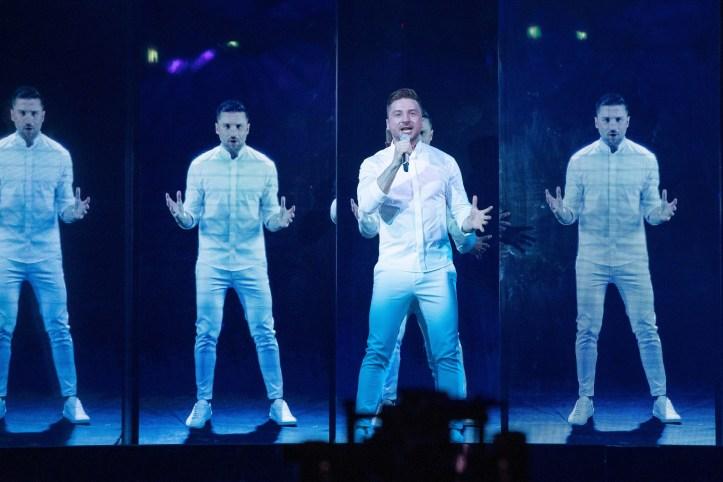 Zweite Probe Russland Sergey Lazarev Scream ESC 2019 4
