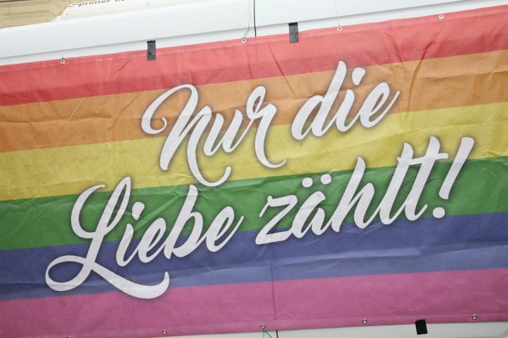 CSD HH 2019 mit ESC kompakt Dancefloor Parade Nur die Liebe zaehlt