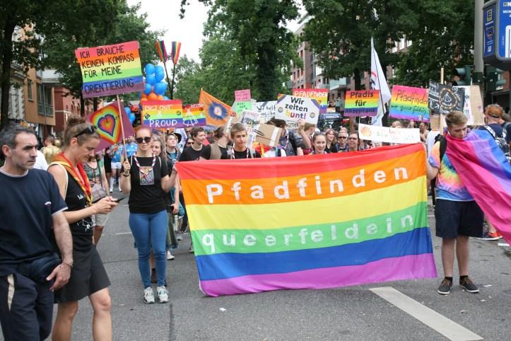 Encore CSD Hamburg 2019 Die schoensten Photos für ESC kompakt Schwule PfadfinderInnen