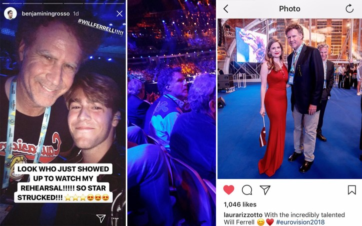Eurovision-2018-Will-Ferrell-Benjamin-Ingrosso-Laura-Rizzotto