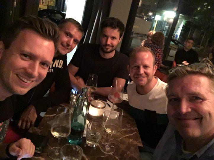 Reunion mit PRINZ Blogger OLiver und Volli im Witwenball