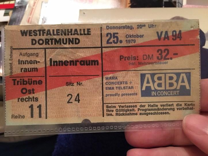 ABBA in Concert Westfalenhalle Dortmund 25. Oktober 1979