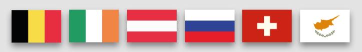 Eurovision-2020-Flaggen-Zusagen-interne-Auswahl-Belgien-Irland-Oesterreich-Russland-Schweiz-Zypern-Rotterdam