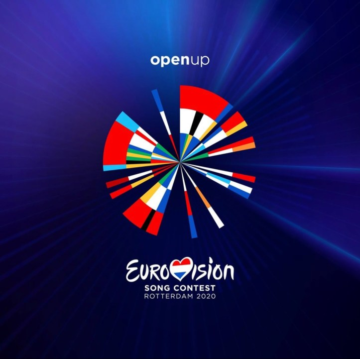Logo ESC 2020 Eurovision Song Contest Rotterdam Open Up