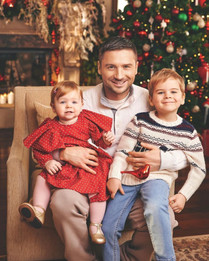 Sergey Lazarev Weihnachten 2019 ESC Eurovision 2016 Russland