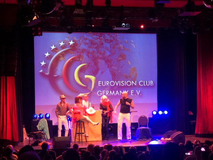 Fanclubtreffen ECG Eurovision Club Germany 2019 Musical S!sters Luca