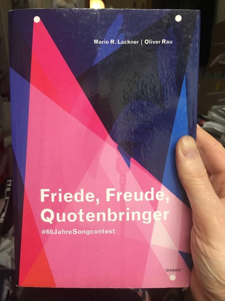 Cover Friede, Freude, Quotenbringer Mario R. Lackner Oliver Rau