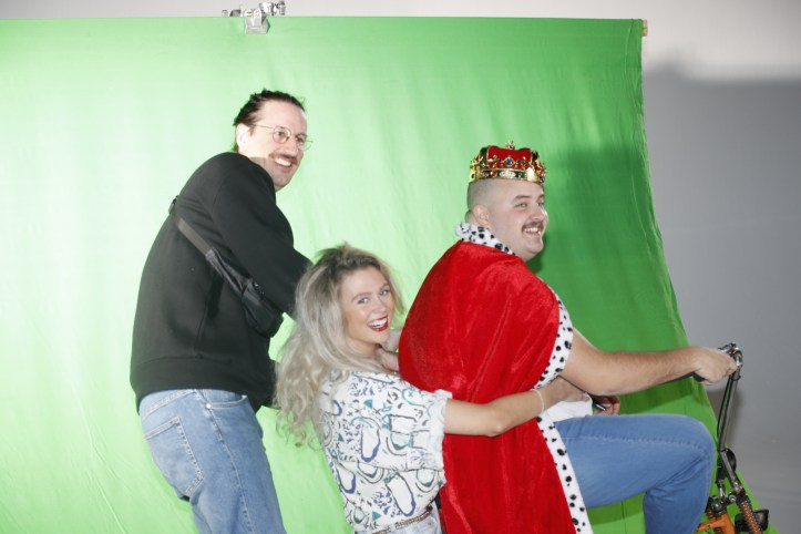 DHG Mr Mercury Videodreh King and Queen backstage mit Regisseur Florian Schueppel