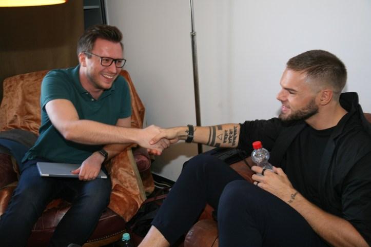 Inside Eurovision Workshop 2018 Koeln Tag 3 On The Way to Tel Aviv BennyBenny und Daniel zelebrieren Einigkeit
