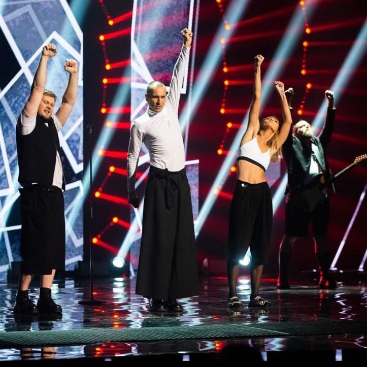 The Roop On Fire Litauen ESC 2020 Eurovision