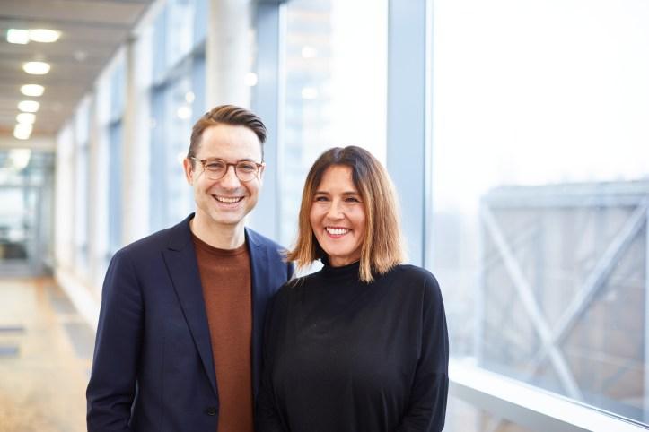 Christian Blenker und Alexandra Wolfslast