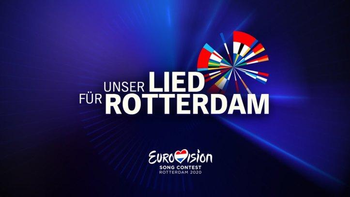 Unser Lied für Rotterdam Logo Deutschland ESC 2020 Eurovision