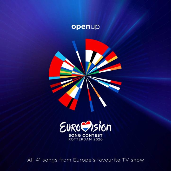 Eurovision Song Contest ESC 2020 Offizielles Album CD MP3 Sampler Compilation Cover