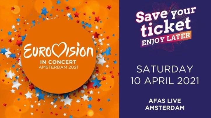 Eurovision in Concert 2021 Amsterdam ESC Eurovision EiC AFAS Live