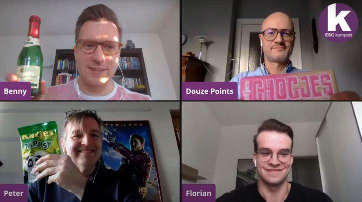 ESC kompakt LIVE Blogger Flo Douze Points Peter Benny Katjes Geldermann Rotkäppchen