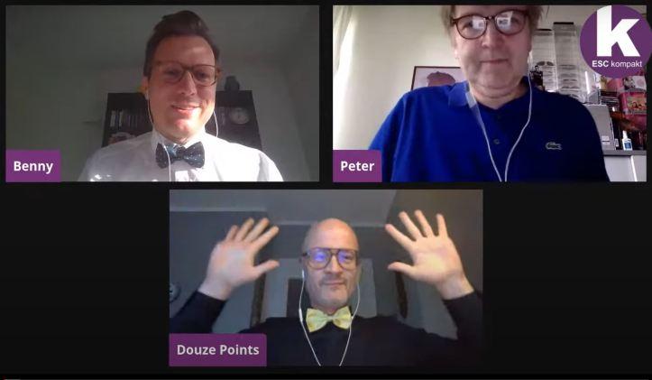 Blogger ESC kompakt LIVE Douze Points Peter Benny