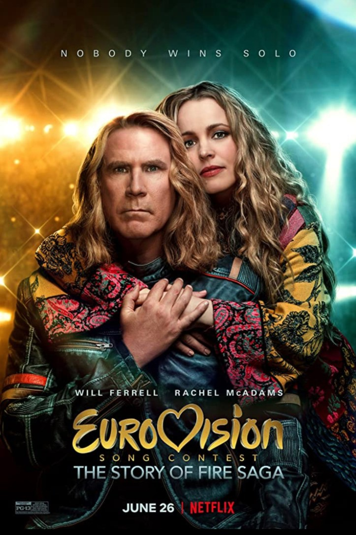 Netflix Eurovision Song Contest The Story of Fire Saga Film Will Ferrell Rachel McAdams