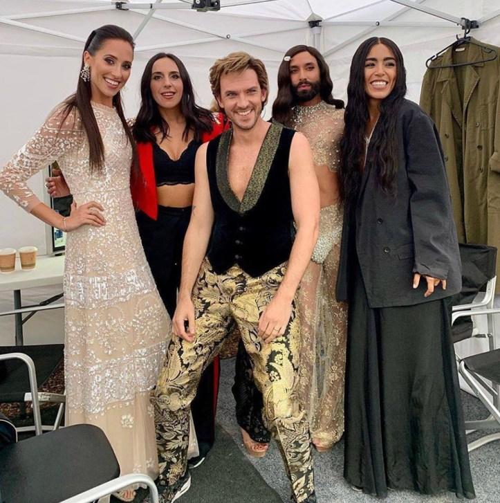 The Story of Fire Saga Dan Stevens Loreen Conchita Wurst Elina Nechayeva Jamala Eurovision Song Contest Netflix Film