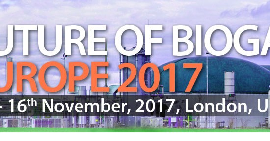 Conference: Future of Biogas Europe, organise by ACI, on 15th-16th November 2017, at London, United Kingdom