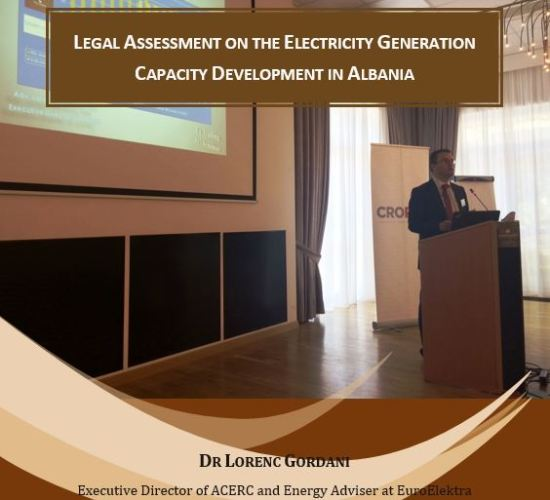 Report Release on Electricity Generation Capacity Development