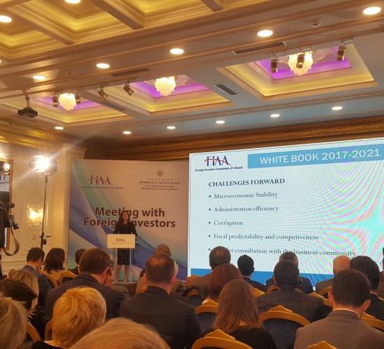 FIAA launches second edition of White Book Albania 2017-2021