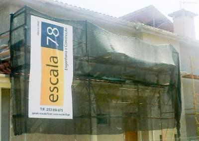 Braga | Isolamento de fachada de vivenda com sistema ETICS tipo Cappotto