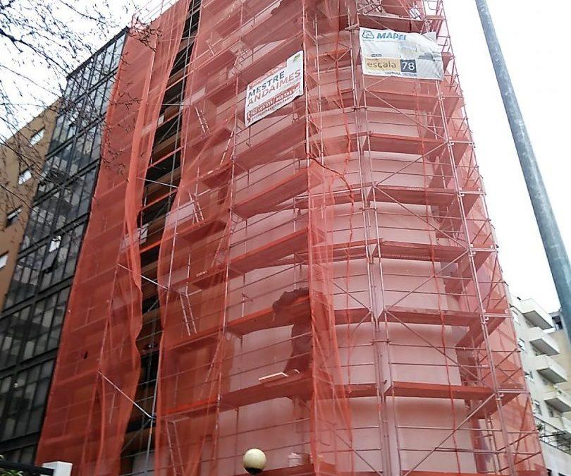 Braga | Reabilitação de fachadas com sistema ETICS