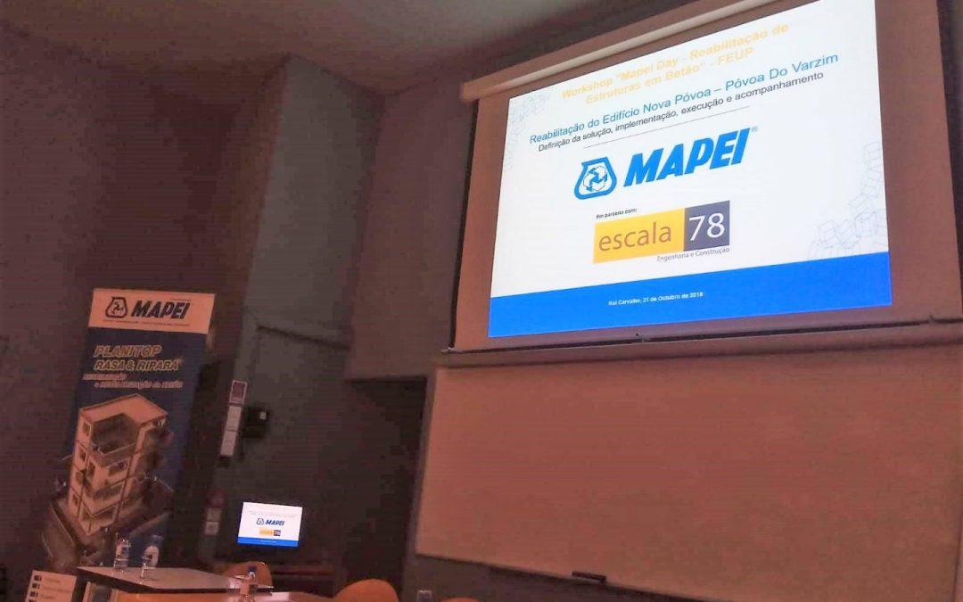 """A escala78 – Engenharia e Construção no1º Workshop """"Mapei Day"""