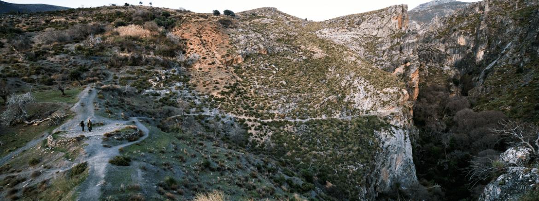 Escalda en los Cahorros de Monachil
