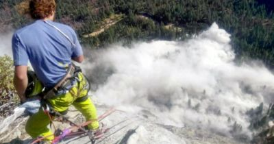 El Capitán en Yosemite sufre impresionante desprendimiento de rocas con una víctima mortal