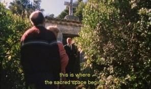 """FIGURA 100 - Still do filme """"O Convento"""", de Manoel de Oliveira (1995)"""