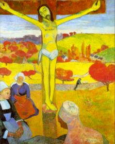 "FIGURA 151 - ""Yellow Christ"", pintura de Paul Gauguin (1889)"