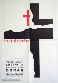 "FIGURA 165 - Poster do filme ""A Man for All Seasons"", de Fred Zinnemann (1966)"